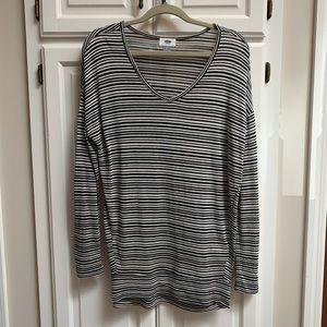 🆕EUC striped tunic